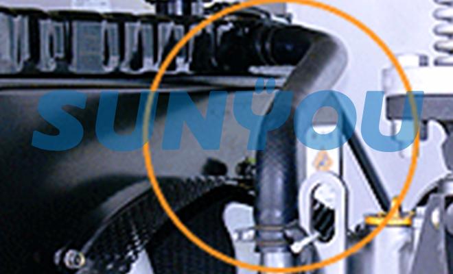 非常用発電機の冷却水配管、劣化と詰まり