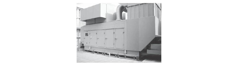 GEF型大型発電機用OS式防振装置