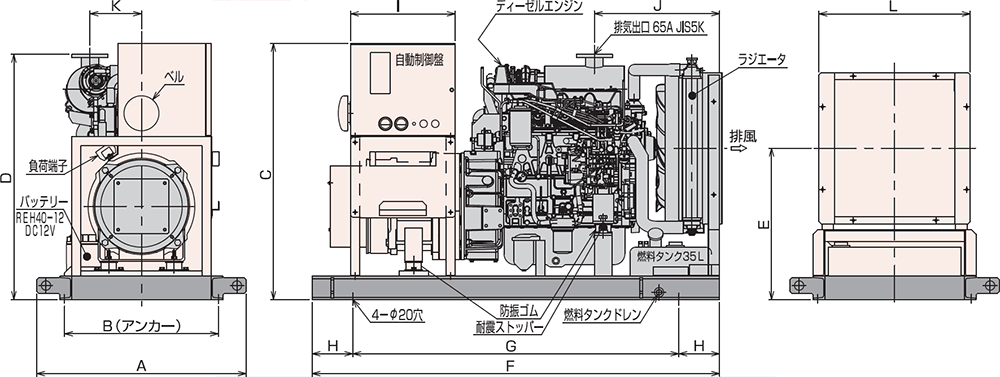 AP65C 屋内オープンタイプ