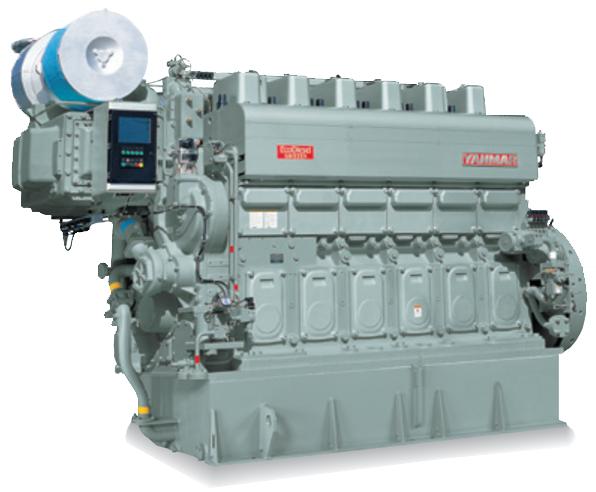 非常用発電機6EY26LW、8EY26LWシリーズ