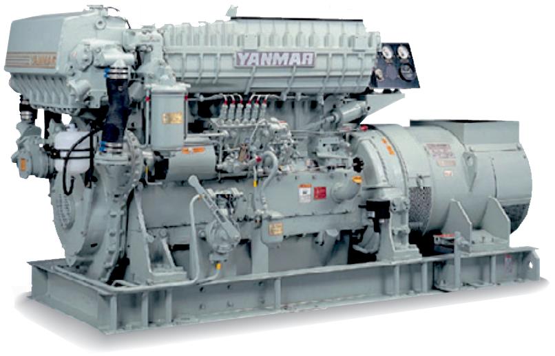 非常用発電機6HALシリーズ(50Hz用)