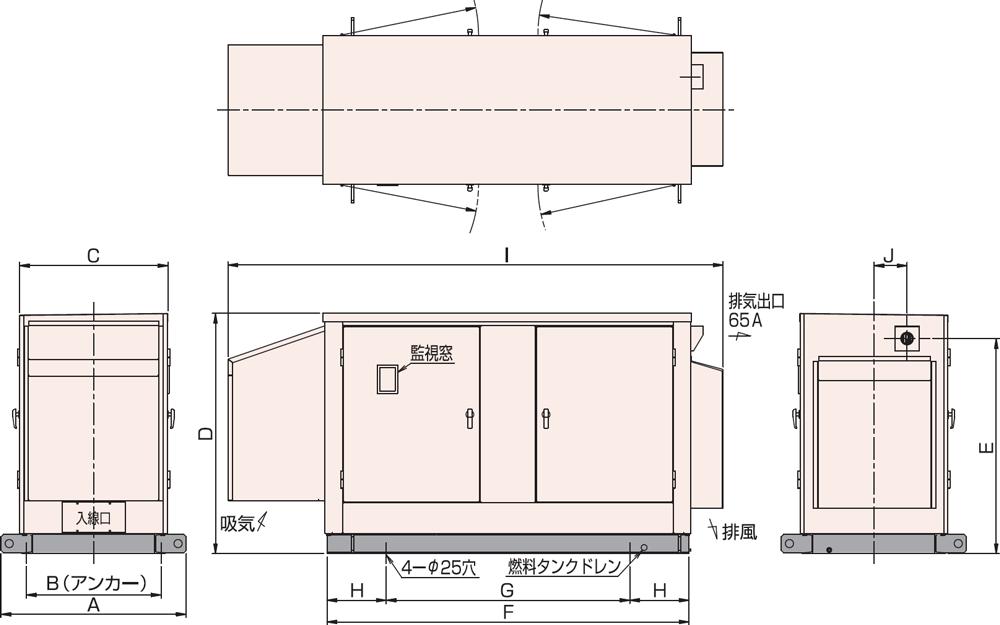 95C・115C 屋外標準騒音タイプ