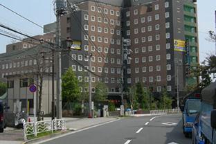 江東区ビジネスホテル屋外発電機