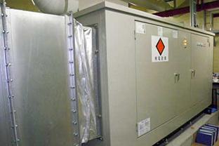 葛飾区マンション屋内設置発電機