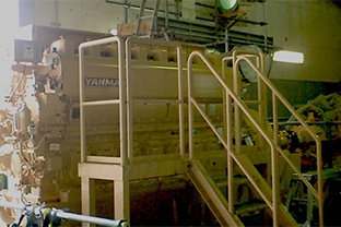 大阪府下水道施設屋内設置発電機