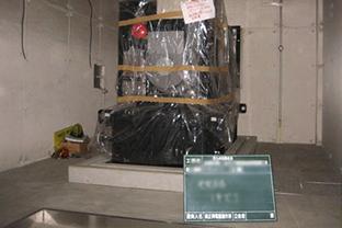 佐世保市某所インターチェンジ屋外設置発電機