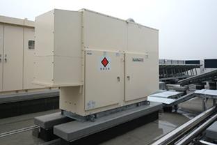 和歌山県某高等学校屋外設置発電機