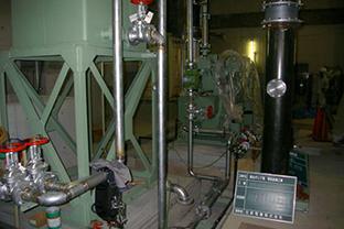 和歌山県ポンプ場屋外設置発電機