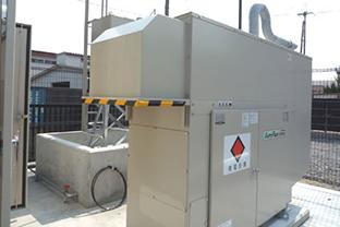 和歌山県某警察署屋外設置発電機