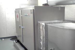神奈川県競技場屋外設置発電機