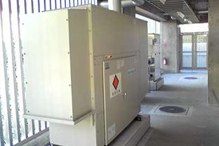町田市マンション屋外設置発電機
