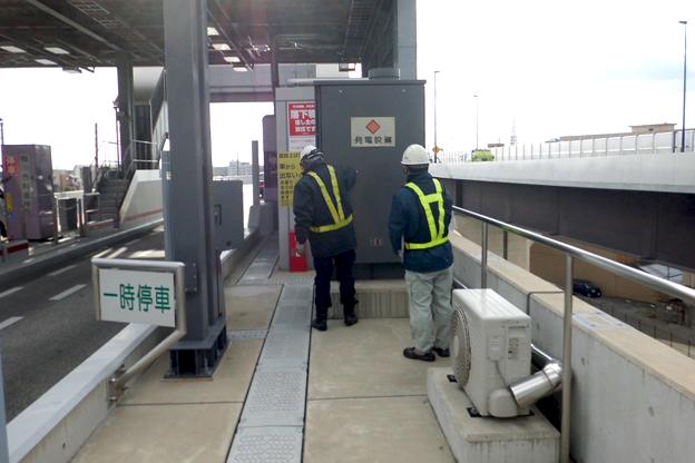 京都市内高速道路メンテナンス