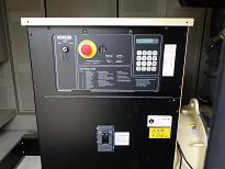 非常用ガス発電機の操作盤